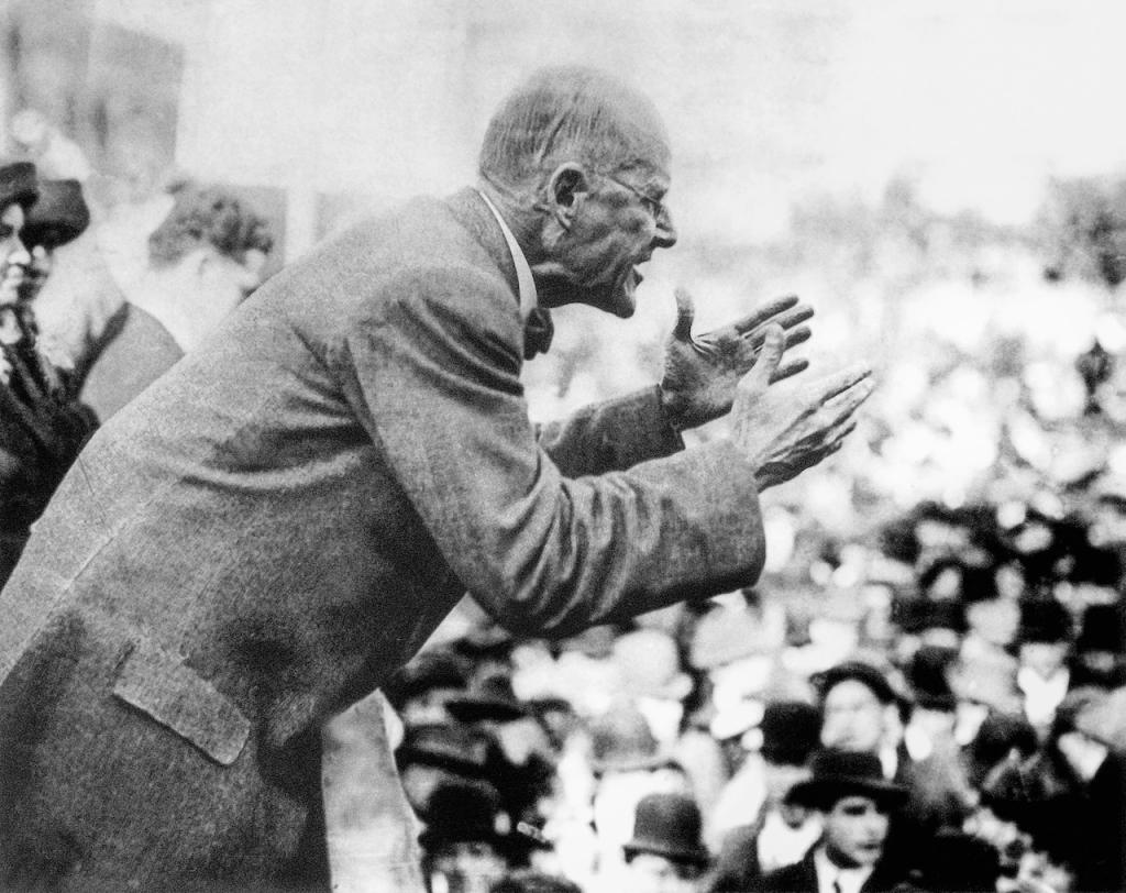 Eugene V Debbs socialist speech 1912 Chicago